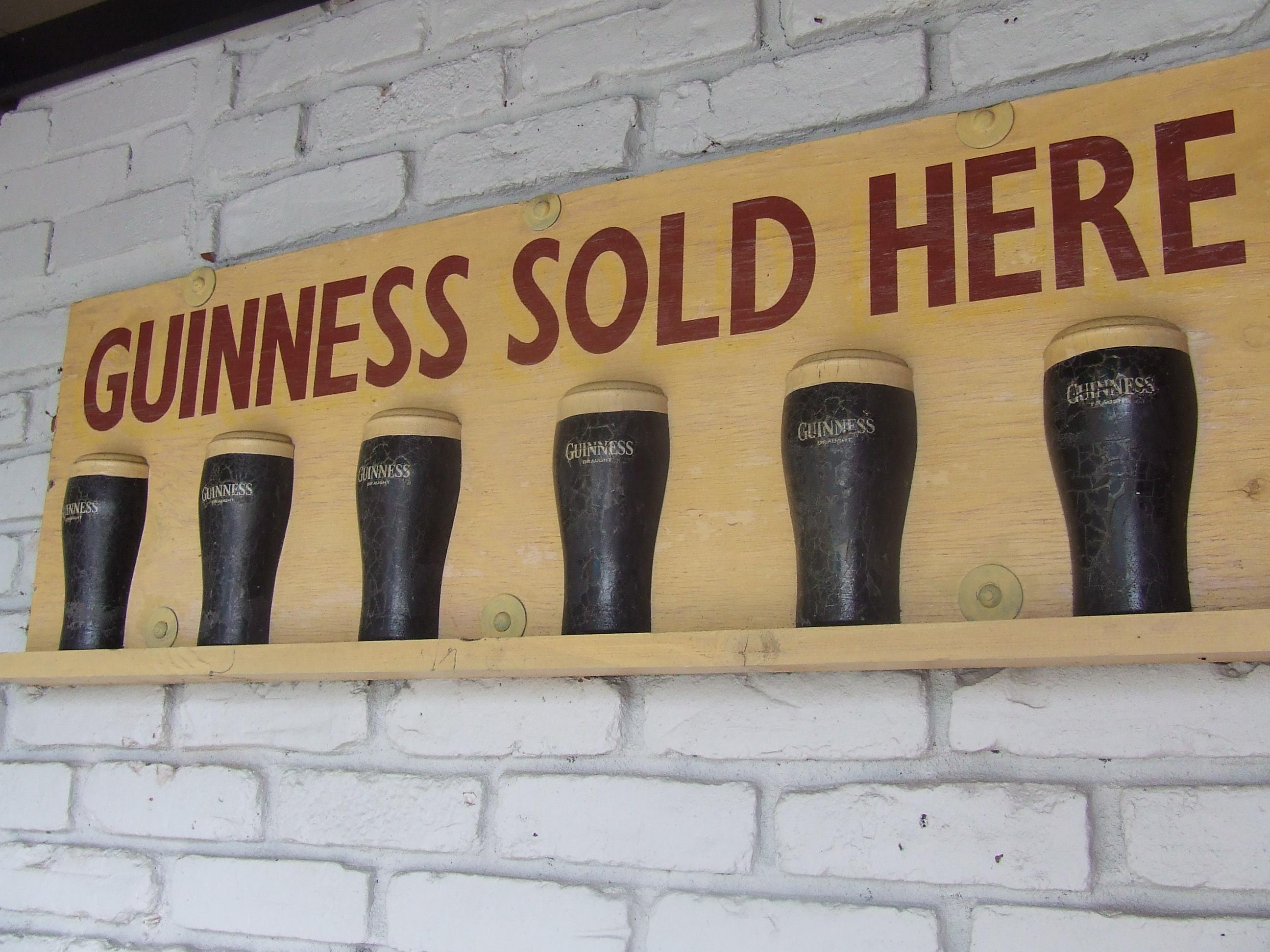 We Sell Guinness!