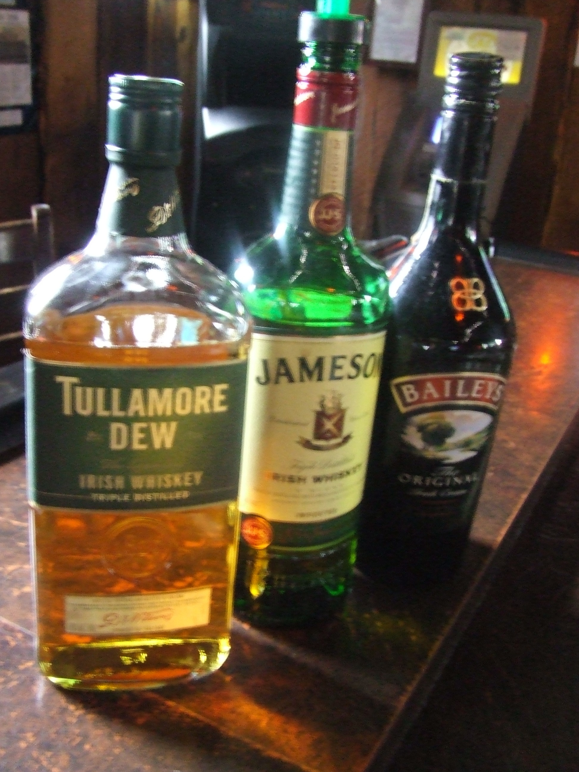 Great Selection of Irish Whiskey!